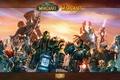 Картинка эльф, человек, WoW, World of Warcraft, гном, орк