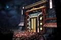 Картинка Jonathan Dufresne, арт, painting, Джонатан Дюфрейн, Chinese New Year, art, Китай, луна, фэнтези, ночь, пейзаж, ...