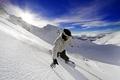 Картинка Сноуборд, горы, адреналин, свобода