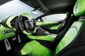 Картинка Lamborghini, HAMANN, LP700-4, Aventador, 2014, Limited, Green, Salon, Seats, Steering Wheel