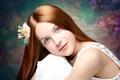 Картинка девочка, Dreaming beauty, портрет