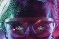 Картинка 4k, neon, cinema, man, hair, fantasy, film, official wallpaper, technology, eyes, face, blue, movie, pupils ...