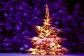 Картинка Happy, 2015, ель, golden, Ёлочка, New Year, Christmas tree, елка, fireworks, Новый год, Рождество, Ёлка, ...