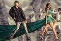 Картинка Bollywood, music, wallpaper, 4k, Samantha Ruth Prabhu, Janatha Garage, Indian film, man, thigh, official wallpaper, ...