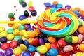 Картинка сладости, леденец, драже, разноцветные, еда, конфеты, леденцы