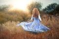 Картинка девушка, природа, платье, magical, Miss Froggi