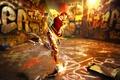 Картинка улица, краски, графитти
