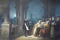 Картинка картина, painting, живопись, 1609, Leonardo Donato, Galileo Galilei displaying his telescope