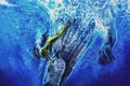 Картинка Монстр, вода, ныряльщик