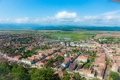 Картинка город, панорама, panorama, town, Romania, Румыния