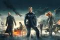 Картинка 2014, Scarlett Johansson, Natasha Romanoff, Chris Evans, Captain America The Winter Soldier, Marvel, Nick Fury, ...