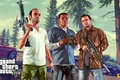 Картинка Майкл, Grand Theft Auto V, Rockstar Games, Тревор, Франклин