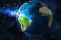 Картинка space, planet earth, life, green