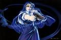 Картинка выстрел, Eda, крутая, art, ухмылка, Пираты Черной лагуны, Hiroe Rei, монашка, Black Lagoon, пистолет