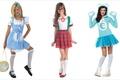 Картинка kids, куколки, дети, мимика, wonder girls, настроение, dolls, three, cosplay, девочки