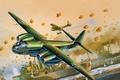 Картинка Ar - 234C, рисунок, бой, арт