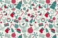 Картинка фон, праздник, подарок, шар, свеча, текстура, олень, Новый год, ёлка, конфета, снежинка