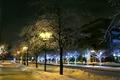 Картинка Новый Год, Снег, Город