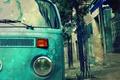 Картинка улица, вагончик, хиппи