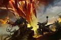 Картинка guild wars 2, игра, kekai kotaki, битва