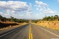 Картинка mountais, BR101, Brasil, road, clouds