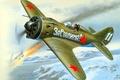 Картинка WW2., арт, самолет, советский, Поликарпова, ВВС, 30-хг, моноплан, ОКБ, ВОВ, И-16, ишачок, поршневой, одномоторный, истребитель, ...