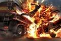 Картинка Wheelman tankerjump, взрыв, огонь, boom, горящий человек
