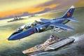 Картинка ВМФ, палубный, советский, штурмовик, Як-38