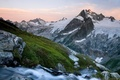 Картинка трава, вашингтон, горы