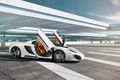 Картинка Spider, GmbH, White, Gemballa, Supercar, Front, Sky
