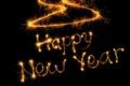 Картинка happy new year? счастливого нового года, слова, новый год, огоньки