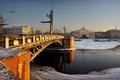 Картинка Санкт-петербург, адмиралтейство, дворцовый мост