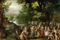 Картинка Свадьба, жанровая, Ян Брейгель старший, картина