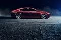 Картинка red, хонда, красная, Honda, профиль, stance, акура, Acura