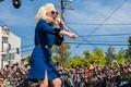 Картинка стиль, party, шоу, street, concert, Леди Гага, голос, концерт, singer, girl, live, девушка, музыка, actress, ...