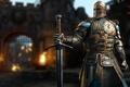 Картинка gate, sugoi, Playstation 4, strong, Microsoft, E3 2016, cross, Ubisoft Montreal, armor, castle, knight, sword, ...