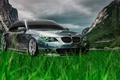 Картинка Креатив, Тони Кохан, Tony Kokhan, БМВ, Природа, Green, Тюнинг, Crystal, el Tony Cars, Nature, Photoshop, ...