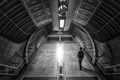 Картинка man, light, underground, stairs, subway