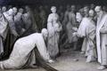 Картинка Neue Pinakothek, Мюнхен, Le Christ et le femme adultère, Ян Брейгель, фламандский, Anvers, южнонидерландский, Jan ...