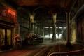 Картинка Station, склад, Machine, warehouse, Fantastic