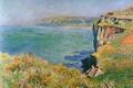 Картинка пейзаж, картина, Клод Моне, Скала в Гранивале