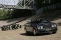 Картинка Bentley, Brooklands, Ретро, Мост, Гонки