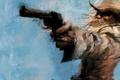 Картинка револьвер, Ковбой, вестерн, стрелок