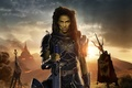Картинка Girl, World, Action, Fantasy, Warcraft, Beautiful, Flame, Assassin, Legendary Pictures, Warrior, Female, year, Castle, Woman, ...