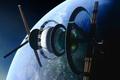 Картинка bernal sphere, планета, космическая станция, звёзды, космос