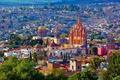 Картинка фото, дома, Мексика, San Miguel de Allende, город