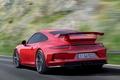 Картинка скорость, Porsche, спойлер, задок, 911 GT3