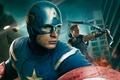 Картинка Hawkeye, Jeremy Renner, Джереми Реннер, шлем, Крис Эванс, комикс, Мстители, The Avengers, лучник, MARVEL, щит, ...