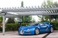 Картинка Veyron, Grand, blue, Bugatti, Sport