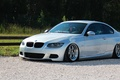 Картинка bmw, бмв, turbo, wheels, tuning, power, front, face, germany, low, e92, stance